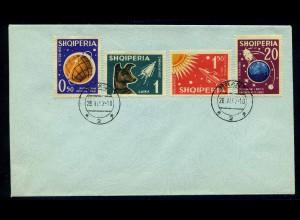ALBANIEN 1962 Nr 663-666 gestempelt (102763)