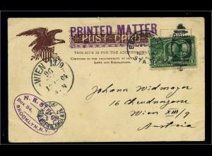 USA 1904 Postkarte gestempelt (103152)