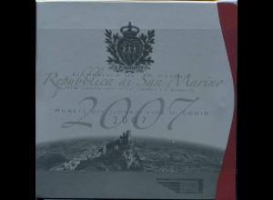SAN MARINO 2007 KMS Spiegelglanz / PP (103369)