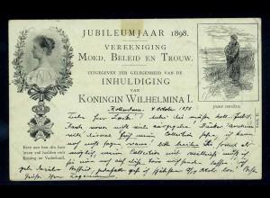 AK Koenigin Wilhelmina I. siehe Beschreibung (103605)