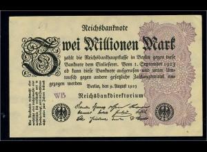 2Mio. Mark 1923 Reichsbanknote siehe Beschreibung (103736)