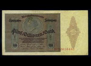 5Mio. Mark 1923 Reichsbanknote siehe Beschreibung (103747)