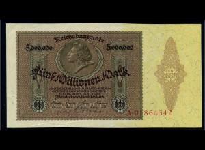 5Mio. Mark 1923 Reichsbanknote siehe Beschreibung (103748)