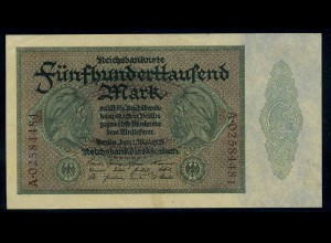 5Tsd. Mark 1923 Reichsbanknote siehe Beschreibung (103751)