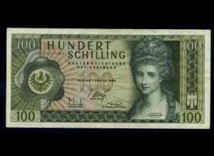 100Schilling 1969 Banknote OESTERREICH siehe Beschreibung (103829)
