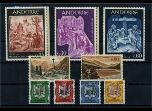 ANDORRA Lot postfrisch (104657)