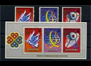 AITUTAKI Lot aus 1983 postfrisch (104731)