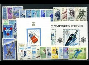 OLYMPIADE 1968 Lot postfrisch (105155)