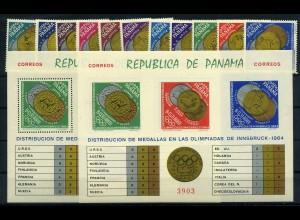 PANAMA OLYMPIADE 1960 Lot postfrisch (105207)
