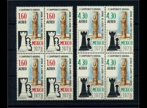 MEXIKO 1978 VB Schach postfrisch (106149)