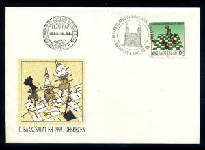 UNGARN 1992 SCHACH gestempelt (106151)