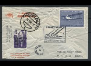 OESTERREICH 1961 Brief/Karte (106888)