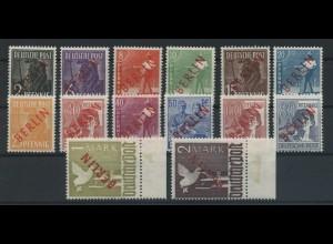 BERLIN 1949 Nr 21-34 postfrisch (106892)