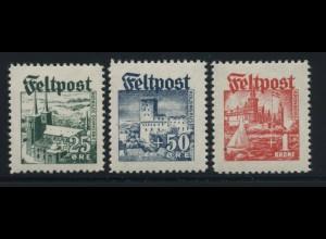 FELDPOST 1944 Nr I-III postfrisch (106980)