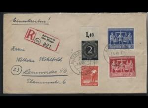 KONTROLLRAT 1946 Nr 912Udr gestempelt (106993)