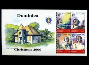 DOMINICA 2000 Nr 2981-2984 postfrisch (107950)