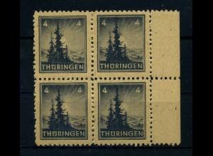 SBZ 1945 Nr 93AXv postfrisch (108194)
