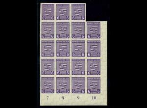 SBZ 1945 Nr 69X postfrisch (109144)