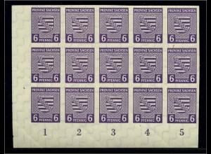 SBZ 1945 Nr 69X postfrisch (109146)