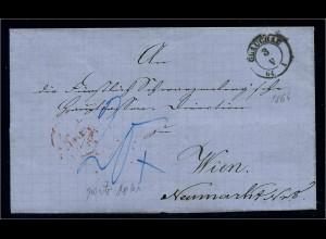 VORPHILA-Brief 1864 GLAUCHAU gestempelt (109190)