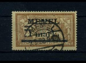 MEMEL 1920 Nr 26 gestempelt (109452)