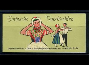DDR 1962 MH 5I/4a gestempelt (109660)