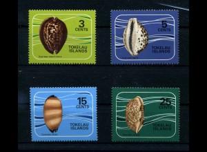 TOKELAU 1974 Nr 34-37 postfrisch (110230)