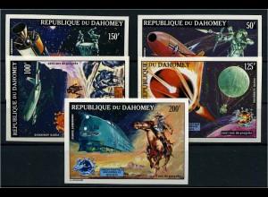 DAHOMEY 1974 Nr 580-584U postfrisch (110301)
