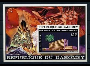 DAHOMEY 1974 Bl.30U postfrisch (110302)