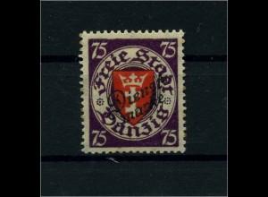 DANZIG 1920 Nr D51 postfrisch (110550)