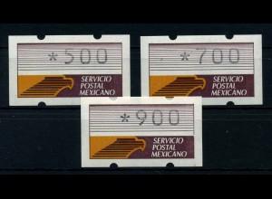 MEXIKO ATM 1990 Nr 1 S1 postfrisch (110953)