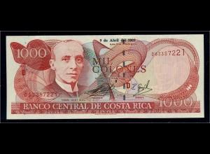 COSTA RICA Banknote 2003 bankfrisch/unzirkuliert (111144)