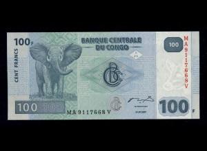 KONGO Banknote 2007 bankfrisch/unzirkuliert (111145)