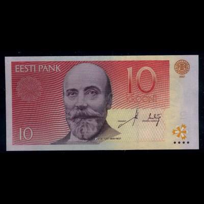 ESTLAND Banknote 2007 bankfrisch/unzirkuliert (111146)