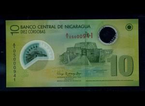 NICARAGUA Banknote 2007 bankfrisch/unzirkuliert (111159)