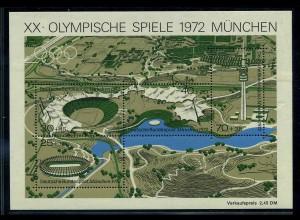 BUND 1972 Bl.7 I postfrisch (111789)