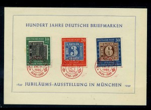 BUND 1949 Nr 113-115 gestempelt (111797)