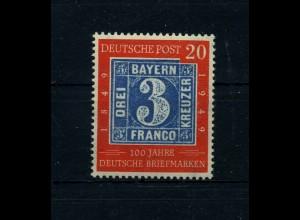 BUND 1949 Nr 114 II postfrisch (111798)