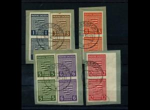 SBZ 1945 Nr 66-71X gestempelt (111874)