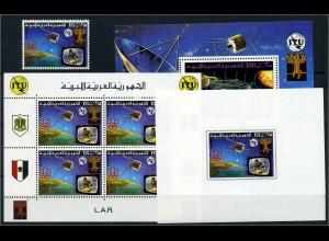 LIBYEN 1977 Lot postfrisch (112555)