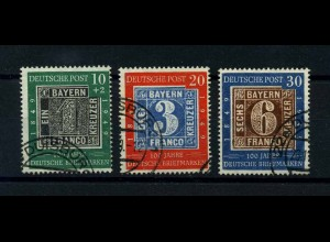 BUND 1949 Nr 113-115 gestempelt (113010)