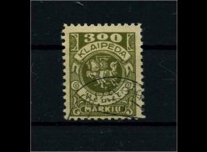 MEMEL 1923 Nr 147 gestempelt (113182)