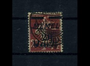 MEMEL 1922 Nr 109 gestempelt (113215)
