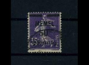 MEMEL 1920 Nr 23 gestempelt (113223)