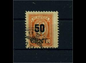 MEMEL 1923 Nr 200 gestempelt (113238)