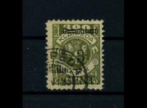 MEMEL 1923 Nr 179 gestempelt (113239)