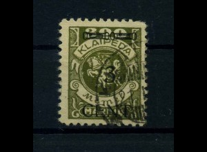 MEMEL 1923 Nr 179 gestempelt (113247)