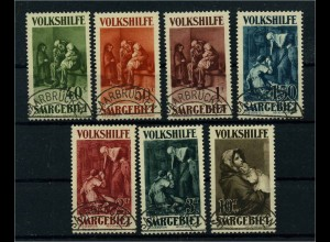 SAARGEBIET 1929 Nr 13-141 gestempelt (113251)