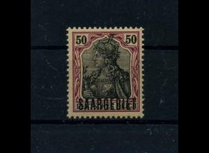 SAARGEBIET 1920 Nr 38y postfrisch (113302)