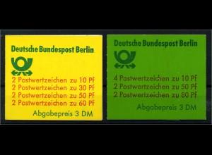 BERLIN 1980 MH12+13 postfrisch (113341)